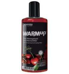 Masážny olej so zohrievacím účinkom - čerešňový (150 ml)