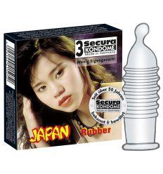 Japonské prezervatívy 3ks