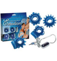 Vzrušujúca súprava krúžkov na penis - emotion
