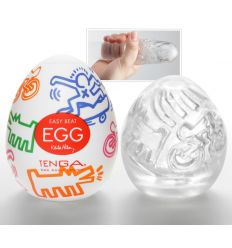 TENGA Keith Haring - Egg Street (1 ks)