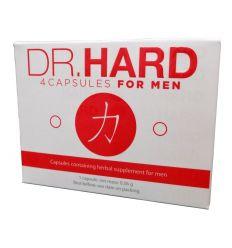 Dr. Hard - kapsule pre mužov (4 ks)