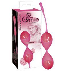 SMILE Sporty - guličky rozkoše (pink)