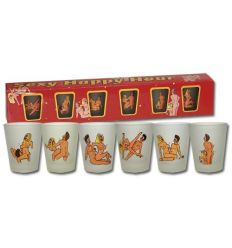 Erotické poháre - súprava
