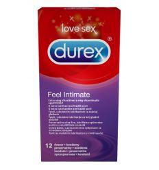 Durex Feel Intimate tenké kondómy 12ks