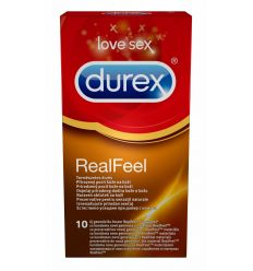 Durex Real Feel kondómy bez latexu 10 ks