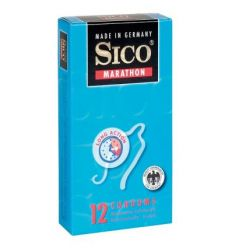 SICO Marathon kondóm odďaľujúci vyvrcholenie 12ks