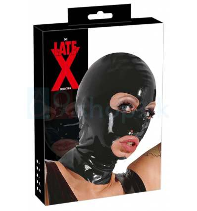 Latexová maska na hlavu