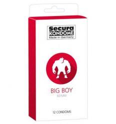 Kondómy SECURA Big Boy 12 ks