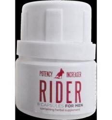 Rider kapsule pre mužov