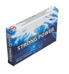Tabletky na erekciu Strong Power caps 4ks