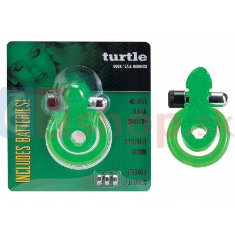 Turtle green erekčný krúžok