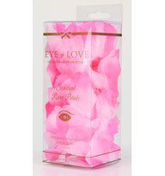 Lupene z ruží ružová/biela