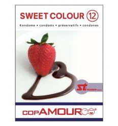 Prezervatív Sweet Colour 12