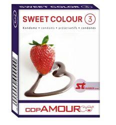 Prezervatív Sweet Colour 3