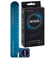MY SIZE kondómy - 64 mm (10 ks)
