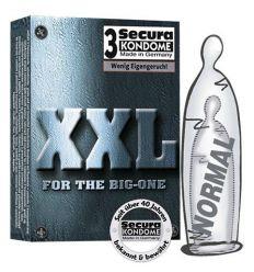 XXL kondóm (3 ks)