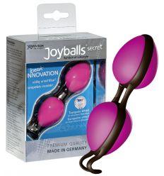 Tajné guličky rozkoše - ružové/čierne (Joyballs)