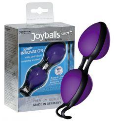 Tajné guličky rozkoše - fialové/čierne (Joyballs)