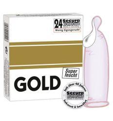 Extra lubrikované kondómy - ružové (24 ks)