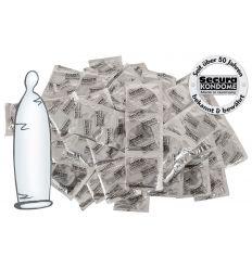Priehľadné kondómy (100 ks)