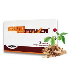 Gold Power kapsule afrodiziakum pre mužov 2ks