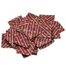 London - jahodový kondóm (100 ks)