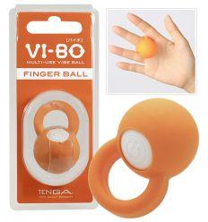 TENGA Vi-Bo - prstový vibrátor - oranžový