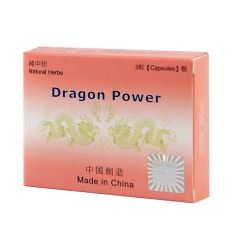 Dragon Power - kapsule pre mužov (3 ks)