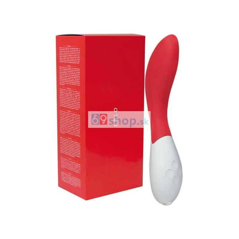 LELO Mona 2 - oblúkový vibrátor (červený)