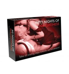 FIFTY NIGHTS OF NAUGHTINESS - erotická spoločenská hra (v angličtine)