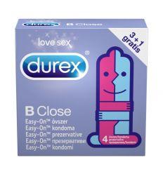 Durex BeClose super klzké kondómy 4ks