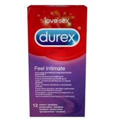 Durex Feel Intimate tenké kondómy 12ks