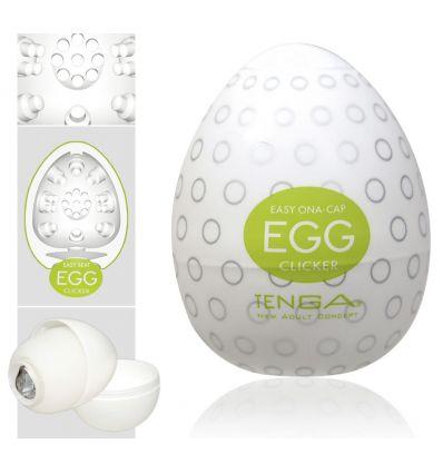 TENGA Egg Clicker vajíčko na orgazmus