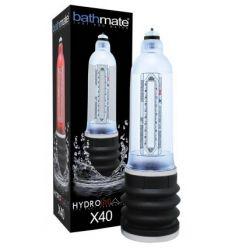 BathMate Hydromax X40 priehľadná vodná hydropumpa