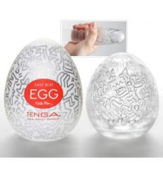 Masturbátor TENGA Keith Haring Egg Party 1ks