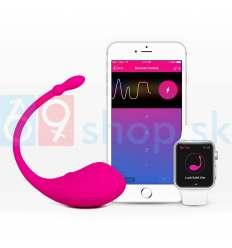 Nabíjateľné SMART vibračné vajíčko Lovense Lush ružové