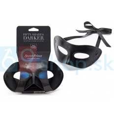 Maska s otvormi pre oči z kolekcie Fifty Shades Darker