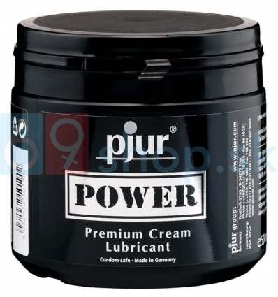 Lubrikačný krém Pjur Power na báze vody a silikónu 500ml