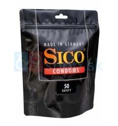 Bezpečné kondómy 52mm SICO Safety 50ks
