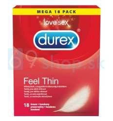 Durex ultra tenké kondómy pre intenzívnejší pocit 18ks