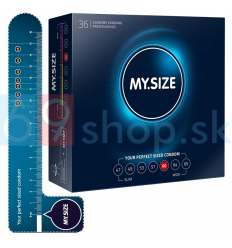 MY SIZE kondómy 60 mm 36ks