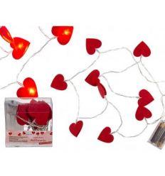 Svetielka v tvare srdca