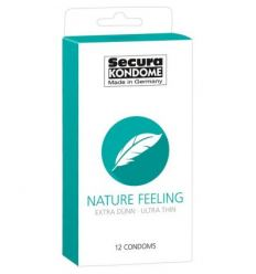 Kondómy Secura Nature Feeling condom 12ks