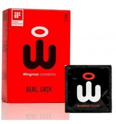Tenké kondómy Wingman 8ks