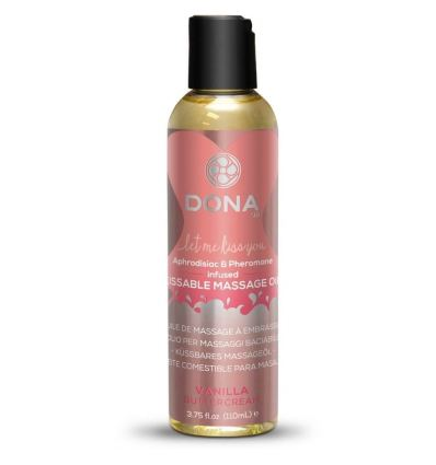 DONA Kissable Massage Oil Vanila Buttercream 110ml