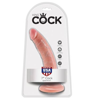 Ultra realistické dildo Pipedream King Cock 17,8 cm
