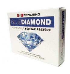 Na libido a erekciu Blue Diamond 4ks