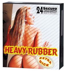 Heavy Rubber 24 kondomy