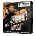 MultiOrgasmus 21+1 kondom