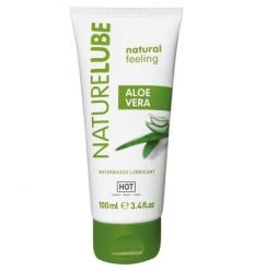 Lubrikačný gel HOT NatureLube Aloe Vera Water-based Lubricant 100ml